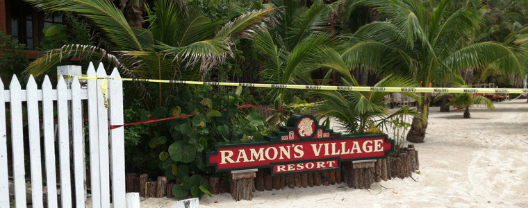 Fire at Ramon's Village, August 2013